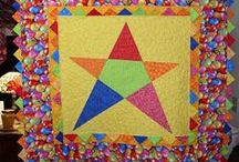A BABYQUILT EASY 2 / just a idea for our charityquilts / by Dorte Rasmussen.Denmark