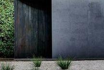Exterior + Courtyards
