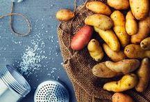Yummy potatoes / potatoes, pommes de terre, patates, purée, frites, soufflé...
