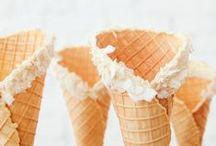 Ice cream / Sorbet, crème glacée, des douceurs pour l'été.