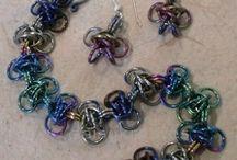 Chainmaille Bracelets / by Jennifer
