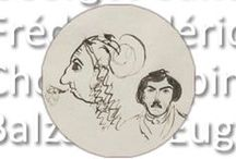 George Sand & Frédéric Chopin / George Sand & Frédéric Chopin / by Fleur de figuier
