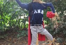 Scarecrow Contest & Display at Morris Arboretum / Unleash your creativity! Participate in the Scarecrow Design Contest. Frame, hay, burlap and twine are provided,  the rest is up to you! All Scarecrows go on display on Scarecrow Walk in mid-October.