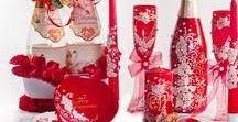 Wedding collection / Комплекты свадебных атрибутов и аксессуаров в едином стиле и цветовой гамме. Комплекты помогают не только собрать весь образ свадьбы в единое целое, но и съэкономить время на поисках нужных атрибутов и аксессуаров.