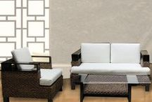 Rattan Furniture / Our Rattan furniture is built for comfort and contemporary style