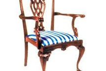 Chippendale Chairs / Hand carved chairs with unique style and eye popping craftsmanship.