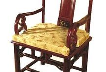 Chinese Chairs / Beautiful hand carved chairs made to add flair to any room.