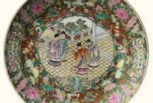 Asian Plates / Magnificent plates with beautifully designed appearence.
