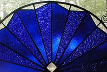 Cobalt blue glass and much more / Beautiful blue / by Shirley Bell