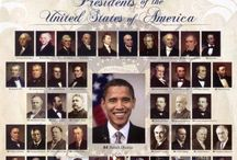 Presidents of the U.S. / Leaders that governed our country. / by Shirley Bell