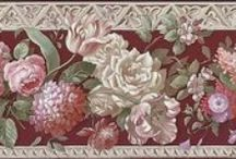 Decoupage. Vintage borders. / .