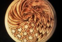 Wood carvings / Beautiful pieces of art transformed from wood  / by Shirley Bell