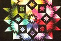 STAR QUILTS 2 / by Dorte Rasmussen.Denmark