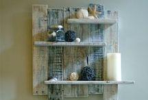 Knock on wood ! / Bois de récup, palettes, bois flotté, le plein d'idées pour décorer la maison ou faire de petits cadeaux. Driftwood