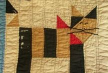 ANTIQUE/OLD  DOLL/CRIB QUILTS