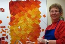 DIANE MELMS QUILTS / what a color world...