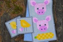 A SEW FRESH QUILTS / THAT`S CUUUTE ANIMALS QUILTS / by Dorte Rasmussen.Denmark