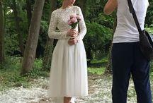 Fotoshooting Isi Lieb (NUDE & SILKY) / Shooting Wedding Brautkleider Brautpaar