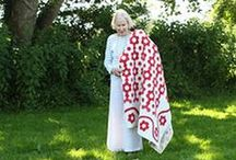 A JEN JONES WELSH & AMISH QUILTS & BLANKETS / A COLLECTION OF ANTIQUE/VINTAGE WELSH & AMISH QUILTS AND BLANKETS,SOME FOR SALE / by Dorte Rasmussen.Denmark