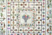 A Q IS FOR QUILTER QUILTS & IDEA´S / She have a great site about vintage quilts, with tutorial, and a lots of vintage quilt/embroidery patterns for vintage quilts......