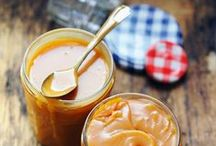 Sur mes tartines / Des tartinades, pâtes à tartiner, dips, rillette, guacamole, lemon curd, caramel... Du salé et du sucré, pour l'apéro ou le goûter.