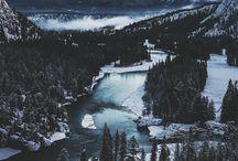 + Mountains and Ski / baby take me away to the mountains.