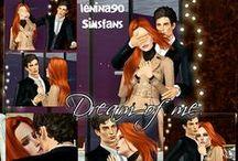 SimsFans TS3 Poses / Single, Female, Male, Couple TS3 Poses