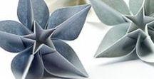 Papiers, origami & collages / Le travail du papier (des papiers) dans toutes ses formes, origami, collages, DIY