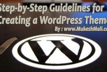 WordPress / WordPress is a free and open source blogging tool and a content management system (CMS) based on PHP and MySQL. It has many features including a plug-in architecture and a template system. / by Mukesh Mali