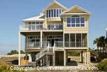 Beautiful Beach Homes and Cottages--Where to Stay in St. George Island! / Beautiful beach homes and cottages to make your beach vacation experience unforgettable.  Tons of pet-friendly options.  Stay in style on St. George Island, Florida!