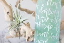 Bringing the Beach Home / Ideas for making your life a little more beachy.