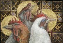 Chickens and Such / Life on the homestead would not be complete without The Girls. Chickens are very good listeners and keepers  of secrets! / by Teri Adkisson Kretzer