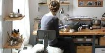 studio & home work / home