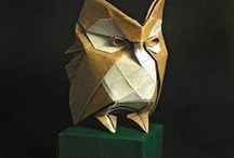 Origami, kirigami, Papel, Cardboard / by Átila
