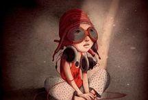 Rebecca Dautremer / illustrazioni
