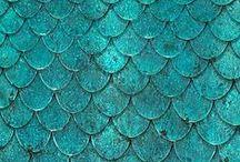 Turquoise-blue