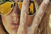 Metallic Tattoos / by Katherine Schwarzenegger