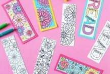 Adult Coloring / One of the hottest trends:  Adult Coloring!  Stress relieving fun that also creates beautiful works of art!