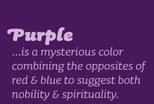 Purple / All things purple