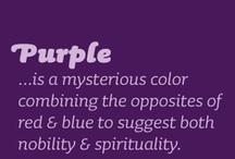 Purple / All things purple