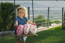 cojines originales para los niños / Cálidas y originales ballenas realizadas a mano con tejidos de patchwork con divertidos motivos. Visítanos en www.vadeballenas.com
