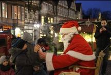 Celler Weihnachtsmarkt / Jedes Jahr verwandelt sich die Celler Altstadt in ein Weihnachtsmärchen. / by Celle Tourismus und Marketing GmbH