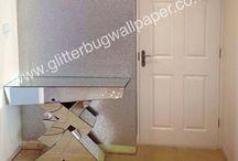 Portfolio - Glitz Range  - Glitter Wallpaper