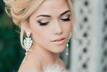Bridal make-up and hair