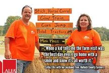 "2014 Neighbors / Alabama farmers featured in the Federation's monthly ""Neighbors"" magazine."