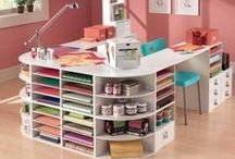 Craft room ideas and storage, home decor / #Craft room ideas and storage, #home #decor