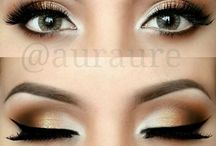 Eyes design / Oční stíny, linky, prostě vše :)