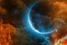 Vesmír / Planety, Hvězdy, Galaxy, ...