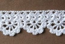 Crochet: Edges, borders and trims