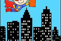 AR Theme: Superheroes